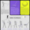 Golf Swing Tip Infographic - The Mechanics of a Golf Swing